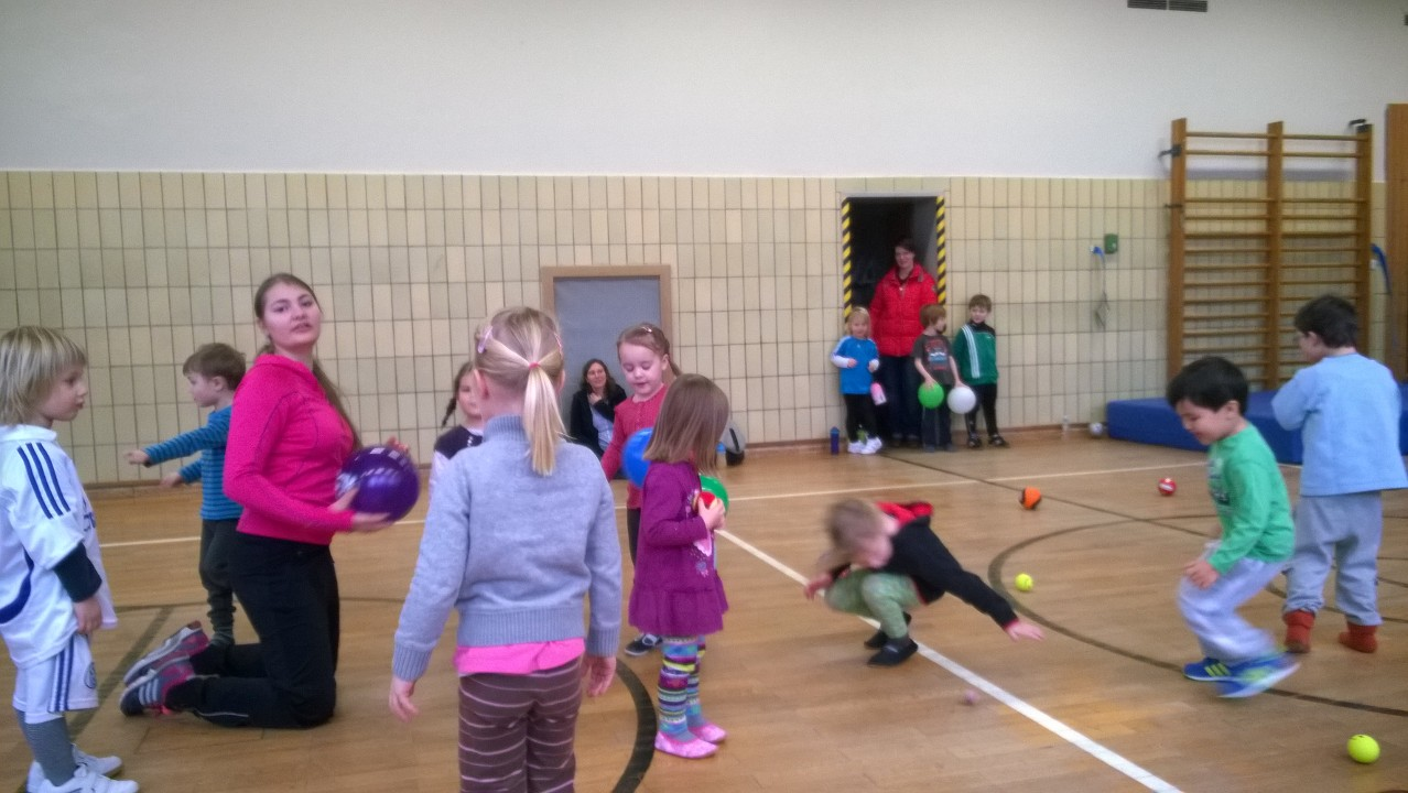 Ballschule von Einer für Kids