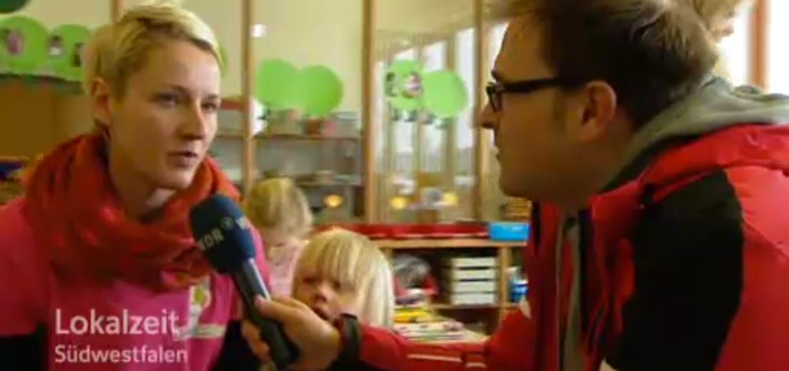 """Video vom WDR Studio Siegen Lokalzeit """"Mittendrin"""" vom 25.02.2013"""